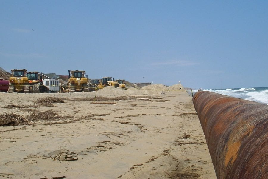 Red tape complicates plan for more sand on Nags Head beach