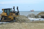 Matthew blamed for loss of a third of Nags Head's new beach