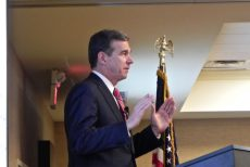 In first OBX visit since election, Cooper derides GOP agenda