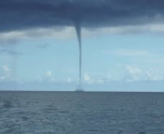 Storm spawns offshore waterspout, tree damage in Tyrrell