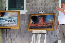 Mirlo rescue paintings donated to Chicamacomico Association