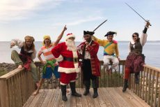 Swashbucking 'Jingle ARRGH the Way' featured at Lost Colony