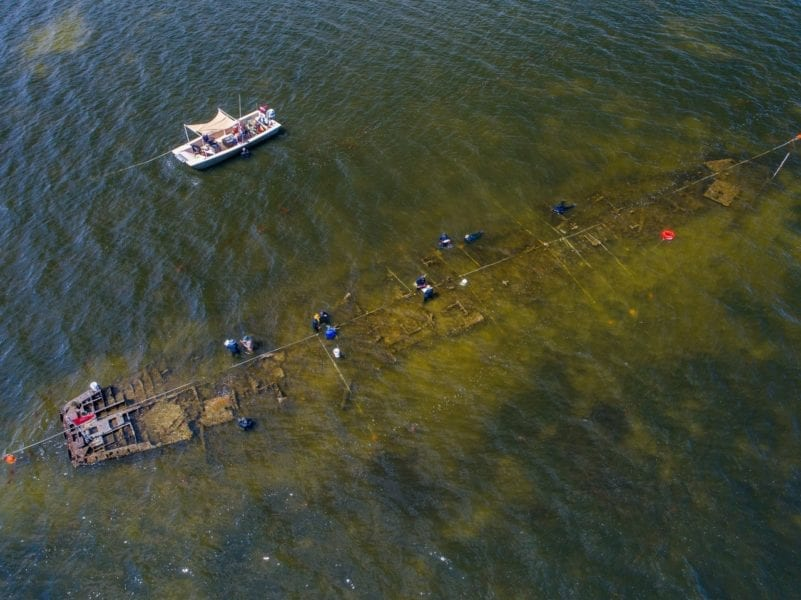 Researchers rediscover WWII shipwreck in the Pamlico Sound