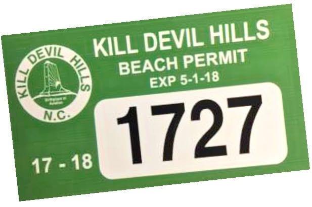 Kill Devil Hills restocks supply of beach driving permits