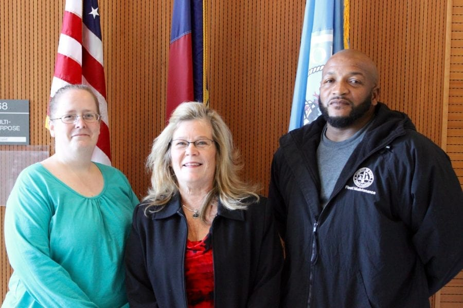 Dare recognizes three for their combined 40 years of service