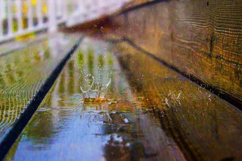 Ben Douglas' Crooked Frame Gallery: Rain Drop