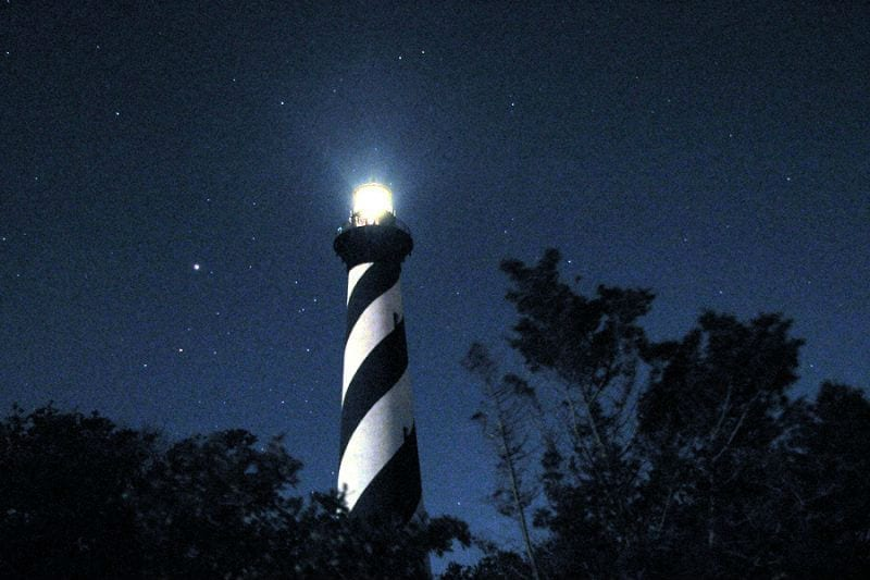 Cape Hatteras Lighthouse repaired and back to beaming