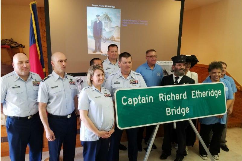 New bridge dedicated to OBX hero Capt. Richard Etheridge