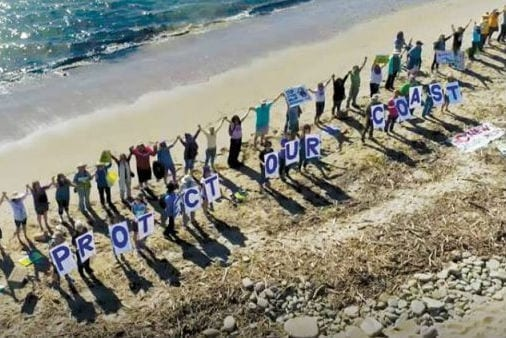 Hands Across The Sand oil drilling protests this Saturday