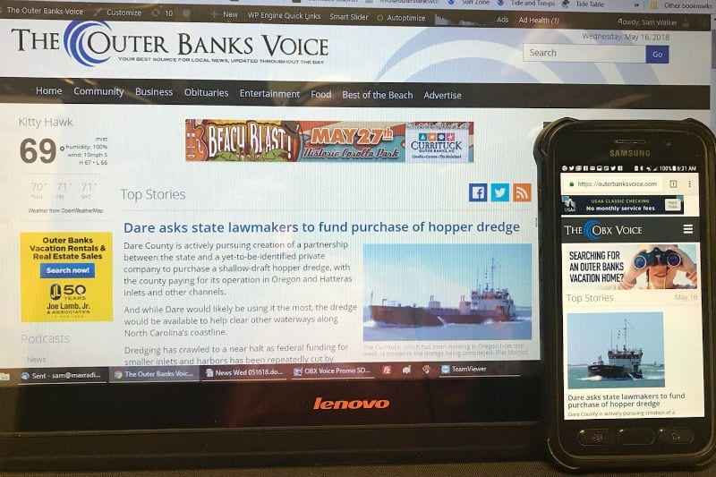 OBX SCORE: Is your small business website mobile friendly?