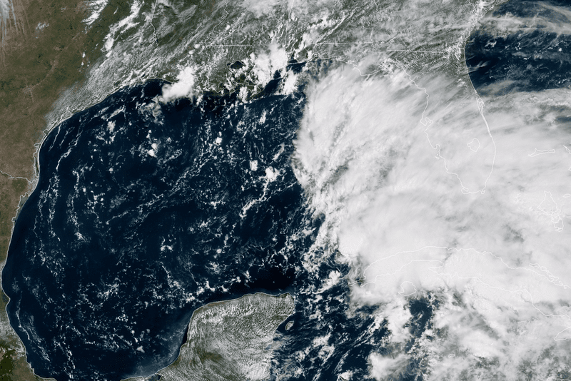 Distant Alberto will pester the Outer Banks with heavy rain
