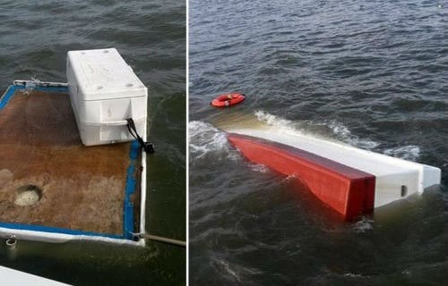 Two rescued after shrimp boat capsizes during storm in Pamlico Sound