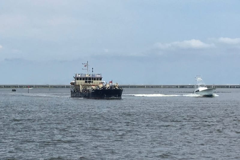 With private partner aboard, Dare on course to build a dredge