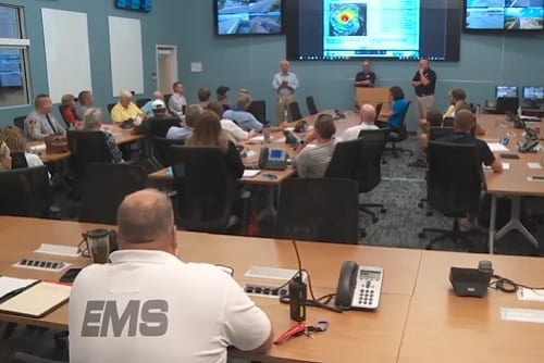 Video: Emergency Management director reflects on Florence