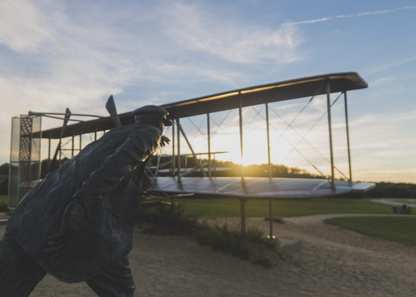 Flyover, speakers to mark 115th anniversary of Wright brothers' first flight