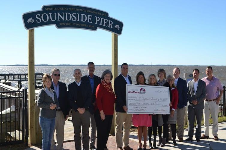 Southern Bank sponsors aquarium's Soundside Pier
