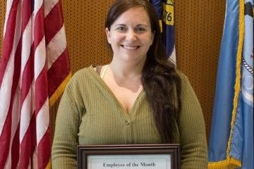 Kristen Stilson is Dare County's top employee for February