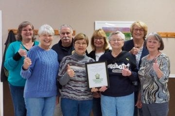 Dare County Master Gardeners win international award