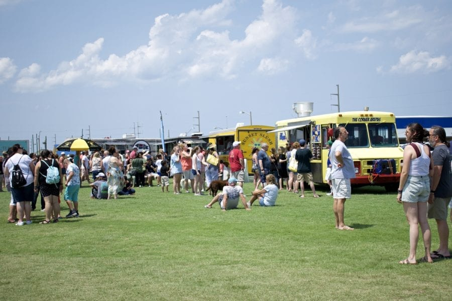 Great weather, fantastic food and rocking music greeted crowds at the Outer Banks Food Truck Showdown on Sunday.