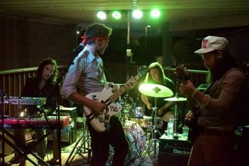 C2 & the Brothers Reed showing how good a jam band can be. Photo, Kip Tabb