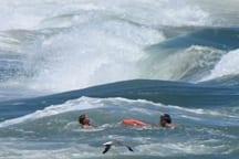 Ocean Rescue helps swimmer in distress near Jennette's Pier