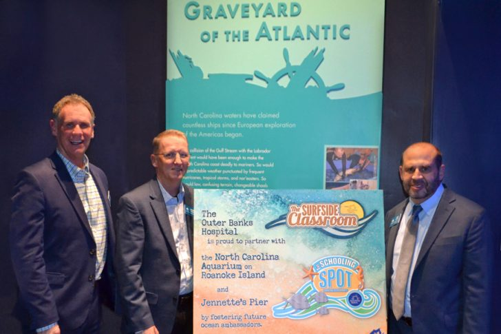 Outer Banks Hospital partners with Aquarium and Jennette's Pier