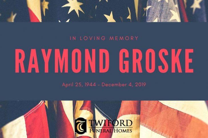 Raymond Thomas Groske of Southern Shores, December 4